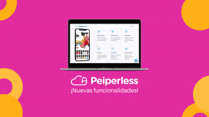 Peiperless - Nuevas funciondalidades